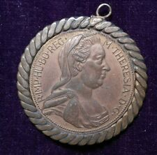 1780 M. Theresia Medal in bezel