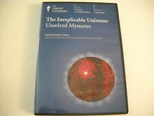 The Great Courses Inexplicable Universe: Unsolved Mysteries DVD, Very good condi