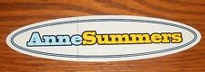 Ann Summers Sticker Decal Oval Promo 7x2