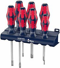 Wera Tools Red Bull Racing 7 Pce Kraftform Screwdriver Set SLOTTED POZI PHILLIPS