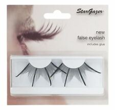 Stargazer False Feather Eyelashes #74 Black and Gold