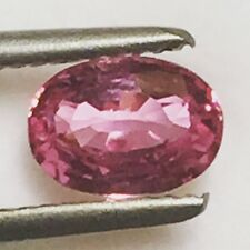 Natural Certified Unheated Pink Sapphire 1.25 Carats Loose Gemstone GIC