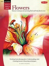 How to Draw Paint Oil & Acrylic : Flowers by Baldwin