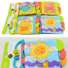 Baby Soft Cloth books Child Intelligence Development Learn Picture Cognize Book