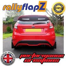 Rally Style Mudflaps FORD FIESTA ST ST180 (2013 on) ST1 Mud Flaps Black 4mm PVC