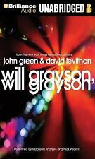Will Grayson, Will Grayson by David Levithan and John Green (2012, CD,...