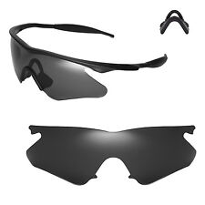 New WL Polarized Black Sunglasses Lenses For Oakley M Frame Heater Sunglasses