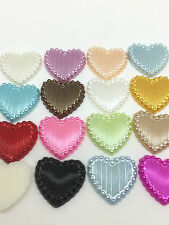 NEW Hot 50PCS Charm resin Stripe DIY heart Scrapbook Craft 15MM Flatback Mix#
