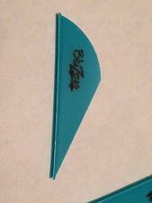 "Bohning 100 Pack 2"" Teal Blazer Vanes Arrow Fletching Vane Feathers"