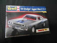 REVELL 69 691/2 A12 DODGE SUPER BEE 2 IN 1 PLASTIC MODEL KIT 1:24 440 SIX PACK