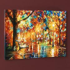 "Leonid Afremov ""Burst of Autumn"" Limited Edition Giclee on Canvas with COA"