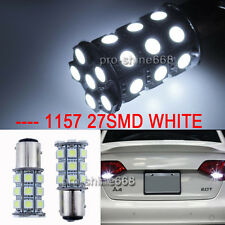 2pcs 3157 27SMD LED Bulbs Lights Xenon White Color DRL FIT Volkswagen Jetta 2011