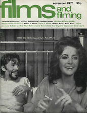 Films and Filming: November 1971 - UK Magazine - Elizabeth Taylor, Robert Altman