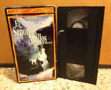 EL SENOR DE LOS ANILLOS Spanish Lord Rings VHS Tolkein 1978 Ralph Bakshi cartoon