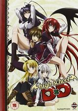 High School DxD Complete Series 1 Collection DVD New & Sealed ANIME Reg 2 Manga