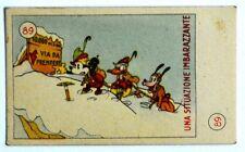 Figurina Anni 1930 Elah/Disney - N°89 Una Situazione Imbarazzante (Premio Topoli