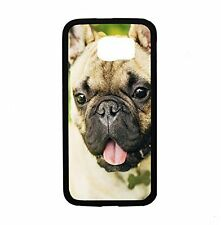 French Bulldog Up Close For Samsung Galaxy S6 Edge SM-G925 Case Cover