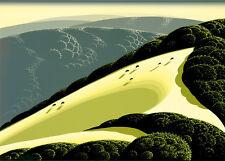 """Eyvind Earle     """"Sierra Madre Foothills""""    MAKE  OFFER    DSS"""