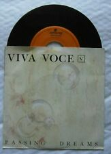 "7"" Viva Voce Passing dreams Holland Corduroy Records 1988 Dutch Wave Synth Pop"