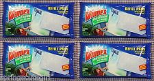 4 Packs Windex Outdoor Glass Cleaning Tool (8 Refill Pads) Cleans 160 Windows