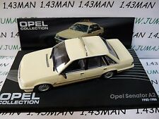 OPE120 voiture 1/43 IXO eagle moss OPEL collection : SENATOR A2 taxi 82/86