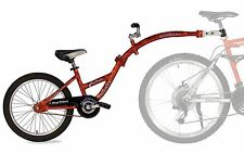 WeeRide Pro Pilot Aluminium Tagalong Trailer Tandem Add A Bike Bicycle Red