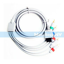 New! High Definition HD Component Audio Video AV Cable for Nintendo Wii / W