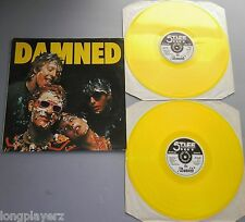 The Damned - Damned / Music For Pleasure UK 1986 Yellow Vinyl Fan Club DBL LP