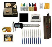 Gold Acid Testing Kit Electronic Diamond Tester oz Digital Caliper 14K Silver