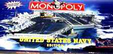 Monopoly United States Navy Edition Board Game NEW FREE SHIP & TRACKING CONT US