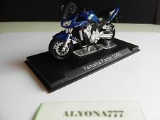 "1/24 Ixo YAMAHA FAZER 1000 Blue MOTO Bike Motorcycle 1:24 Altaya /IXO ""NEW"""