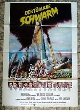 TÖDLICHE SCHWARM / THE SWARM * A1-Filmposter - German 1-Sheet -1978 Horror