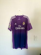 CASILLAS,2013-14 LFP REAL MADRID AWAY GK MATCH UNWORN SHIRT LA LIGA SIZE 8