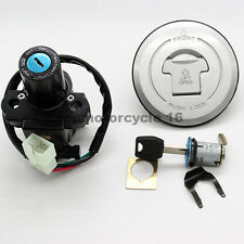 Ignition Switch+Gas Cap Cover Lock+Key Set For Honda CBR 600RR 03-06 2004 2005