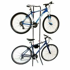 New Gravity Bicycle Rack Holds 2x Bikes Adjustable Storage Stand Bike Cycle