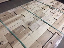 """850 Sqft Unfinished Rustic Hickory Solid Hardwood 5"""" x 3/4"""" Flooring $1.69 Sq Ft"""