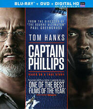 Captain Phillips Blu-ray/DVD, 2014, 2-Disc Set, Includes Digital Copy...