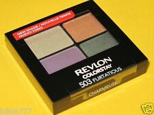 NEW Revlon Colorstay 16-Hour Eyeshadow Quad-503 Flirtatious