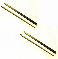 "2 x 2 PIECE 48"" ASH POOL / SNOOKER CUES. IDEAL FOR SMALL SPACES AND CHILDREN"
