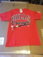 New Vintage Chicago Bulls Shirt Youth Large L 1990's 1991 Red Logo NBA