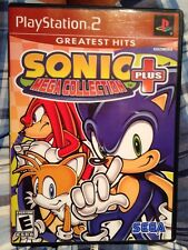 Sonic Mega Collection Plus (Sony PlayStation 2, 2004) **COMPLETE**