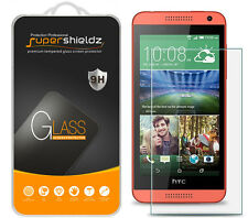 2X Supershieldz Tempered Glass Screen Protector Saver Shield For HTC Desire 610