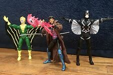 MARVEL LEGENDS GAMBIT BLACK BOLT & BANSHEE LOOSE NO RESERVE!