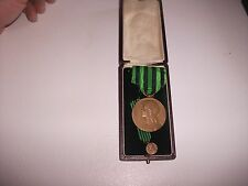 lot medailles militaire guerre 1870/1871 avec miniature et boite