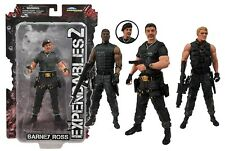 "THE EXPENDABLES 2 - 7"" Action Figure Set (4) by Diamond Select Toys #NEW"