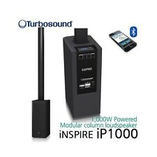 TURBOSOUND 1,000 WATT POWERED COLUMN LOUDSPEAKER KARAOKE DJ BAR GREAT SOUND