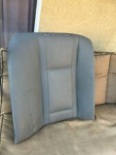 BMW E65 E66 REAR RIGHT SIDE BACK REST SEAT LEATHER CUSHION GRAY, P# 7 123 328