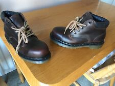 Vintage Dr Martens 7751 brown steel boots UK 4 EU 37 England walking hiking