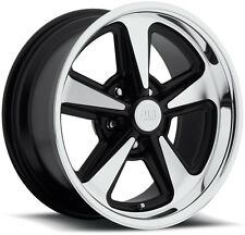 "Staggered US Mags U109 Bandit 17x8,17x9 5x4.75"" +1mm Black/Machined Wheels Rims"