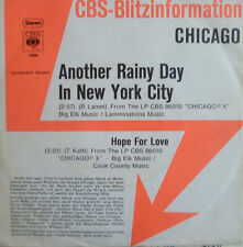 "7"" 1972 CBS BLITZ PROMO RARE MINT-! CHICAGO : Another Rainy Day In New York City"